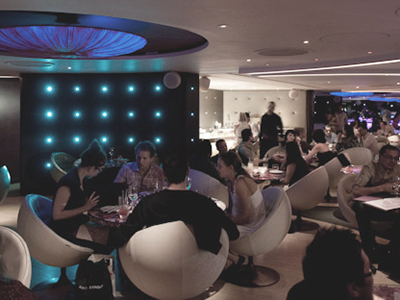 COCOON restaurant interior : IGNITE GROUP